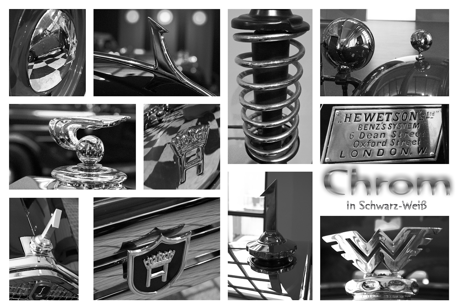 Collage Horch Museum